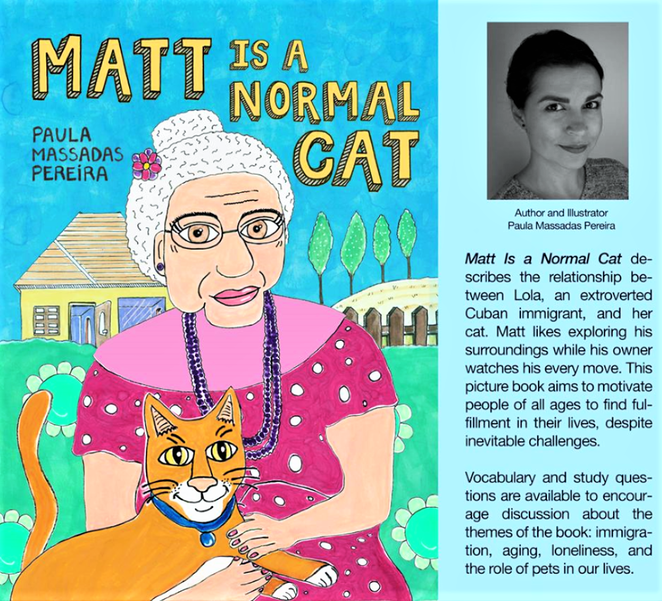 Book Matt Is a Normal Cat